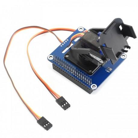 2-DOF Pan-Tilt-HAT for Raspberry Pi