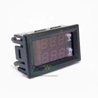Digital Ammeter Voltmeter DC 0-100V/10A R2