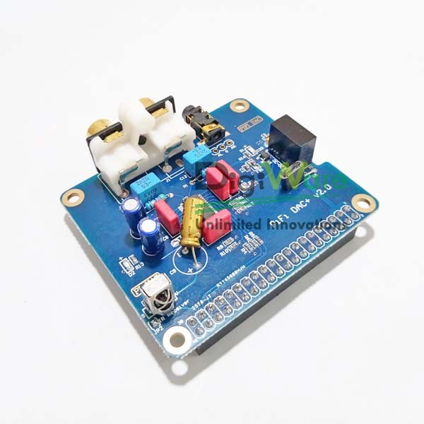 HIFI DAC Audio Sound Card Module I2S Interface for Raspberry Pi B+ / Pi 2 /  Pi 3B / Pi 3B+
