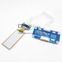 212x104, 2.13inch flexible E-ink display HAT for Raspberry Pi