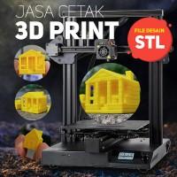 Biaya cetak 3D Print (per gram)