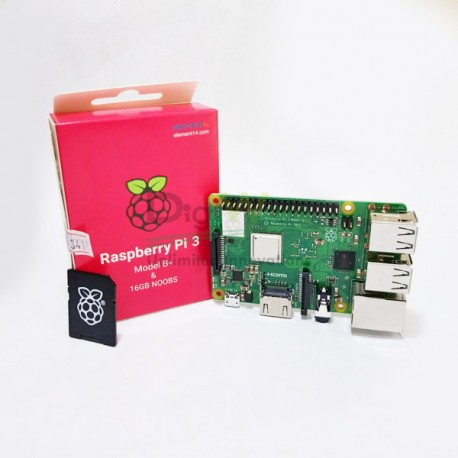 Raspberry Pi 3 Model B+ with 16GB Micro SD Card Bundle