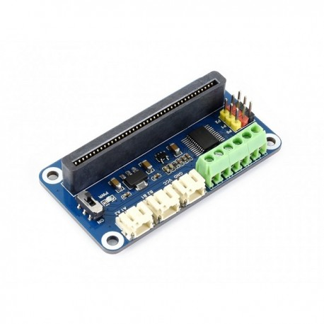 Driver Breakout for microbit, drives motors and servos