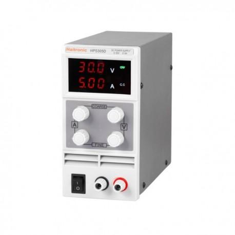 Mini DC Power Supply HPS305D, 0-30V, 5A