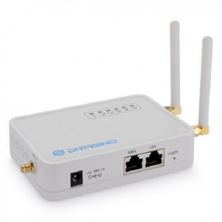 Dragino LG02 Dual Channels LoRa IoT Gateway