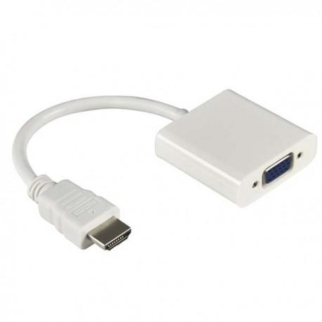 HDMI to VGA Female Adapter - HD008 - White