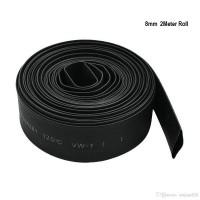 Heat Shrinkable Tube Black 8mm Black (1 meter)