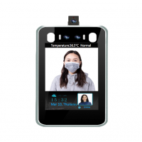 Temperature Detection, Mask Detection & Facial Recognition 3 in 1 System