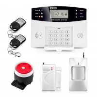 Home Security GSM Alarm Systems Kit 433MHz (EU Plug)