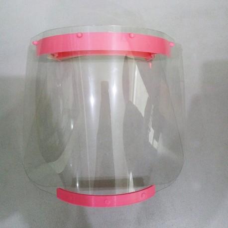 Face Shield / Pelindung Wajah Anak Pink