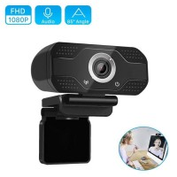 HD Webcam 1080p Wide Angle with Microphone 2MP 30FPS USB Webcam