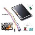 Arduino Raspberry Pi NX4827K043 LCD Touchscreen 4.3 inch HMI UART Serial TFT Resistive