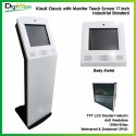 KiosK Classic with Monitor Touch Screen 17 inch Industrial Standard