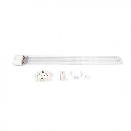 Lampu UVC Osram 36W Steril Germicidal 4 Pin 2G11 Refill + Fitting