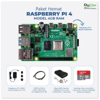 Paket Hemat Raspberry Pi 4 Model 4GB RAM