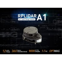RPLiDAR A1M8-R6 360 Degree Laser Scanner Kit 12M Range