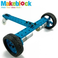 Makeblock 2WD/Crane Robot Kit - Blue