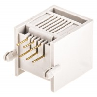 Telephone Modular Jack 6P6C Low Profile