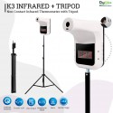 K3 Infrared Thermometer Forehead Automatic with Tripod