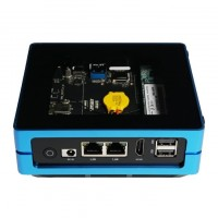 ODYSSEY Blue J4105 Mini PC 128GB NVME Integrated Arduino Without Win10