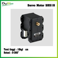 SR518 Digital Metal Geared Servo