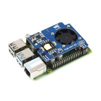 Power Over Ethernet HAT for Raspberry Pi 3B+/4B 802.3af Compliant Official Case Compatible