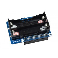 UPS HAT for Raspberry Pi Stable 5V Power Output Uninterruptible Power Supply