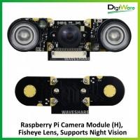 Raspberry Pi Camera Module (H), Fisheye Lens, Supports Night Vision