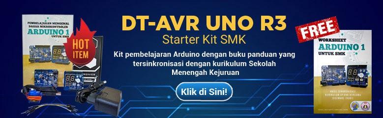 DT AVR UNO R3 Starter Kit SML