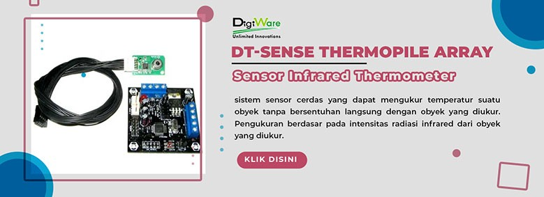 DT-Sense Thermopile Array Sensor Infrared Thermometer